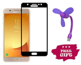 TEMPERED GLASSES Edge To Edge Tempered Glass For Samsung Galaxy J7 Duo