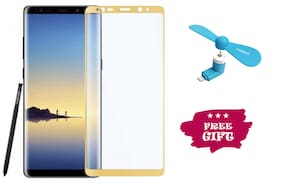 Best Selling Samsung Galaxy Note 9 6D Tempered Glass by Tempered Glasses Get a Fan Free