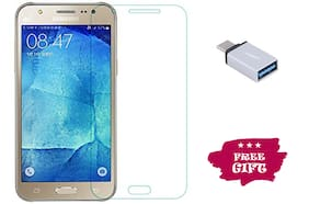 TEMPERED GLASSES Edge To Edge Tempered Glass For Samsung Galaxy J5 Prime