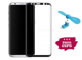 TEMPERED GLASSES Edge To Edge Tempered Glass For Samsung Galaxy S8 Plus