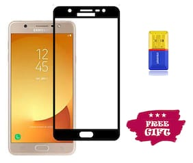 Best Selling Samsung Galaxy J7 Max 6D Tempered Glass by Tempered Glasses Get a Memory Card Reader Free