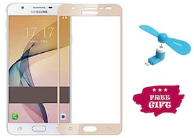 Best Selling Samsung Galaxy J7 Prime 6D Tempered Glass by Tempered Glasses Get a Fan Free