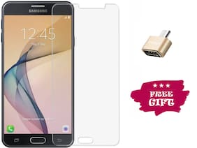 Best Selling Samsung Galaxy J7 Nxt 6D Tempered Glass by Tempered Glasses Get a OTG Free