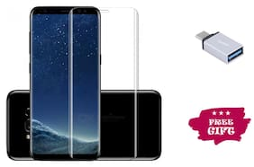 Best Selling Samsung Galaxy S9 Plus 6D Tempered Glass by Tempered Glasses Type-C OTG Free