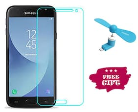 TEMPERED GLASSES Edge To Edge Tempered Glass For Samsung Galaxy J2 Pro