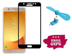 Best Selling Samsung Galaxy J7 Duo 6D Tempered Glass by Tempered Glasses Get a Fan Free