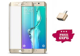 Best Selling Samsung Galaxy S7 Edge 6D Tempered Glass by Tempered Glasses Get a OTG Free