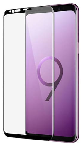 TEMPERED GLASSES Tempered Glass For Samsung Galaxy S9 Plus