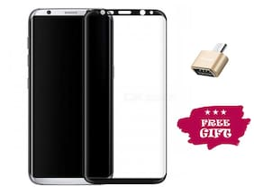 Best Selling Samsung Galaxy S8 Plus 6D Tempered Glass by Tempered Glasses Get a OTG Free