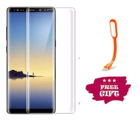 TEMPERED GLASSES Impossible Screen Guard For Samsung Galaxy Note 8