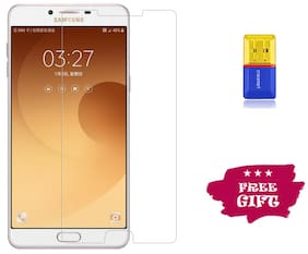 Best Selling Samsung Galaxy C9 Pro 6D Tempered Glass by Tempered Glasses Get a Memory Card Reader Free