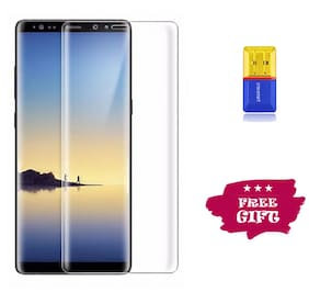 Best Selling Samsung Galaxy Note 9 6D Tempered Glass by Tempered Glasses Get a Memory Card Reader Free