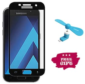 Best Selling Samsung Galaxy A5 (2017) 6D Tempered Glass by Tempered Glasses Get a Fan Free
