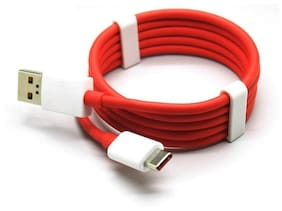 S4 Sync & charge cable & Usb c type cable - 1-1.5m , Red & White