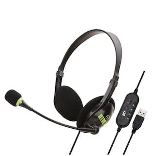 BigPassport BP_Pro-tech_FBA Over-Ear Wired Headphone ( Black )