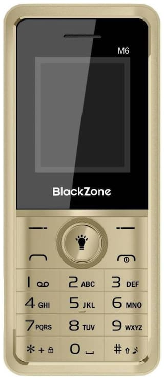 Black Zone M6 Dual Sim (Gold)
