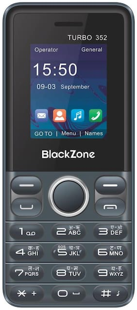 Black Zone Turbo 352 Dual Sim (Black)