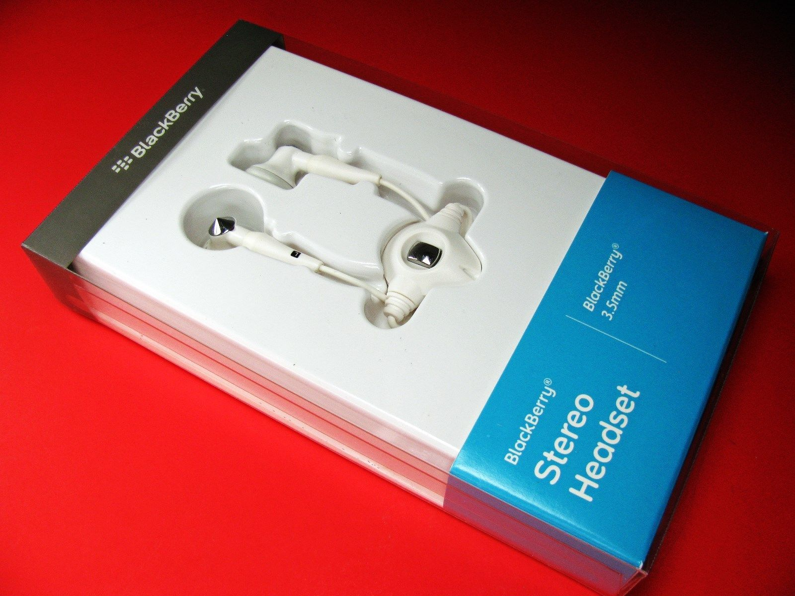 Blackberry Stereo Headset on/off CURVE 9315 9320 9310 9380 9360 9350 9370...
