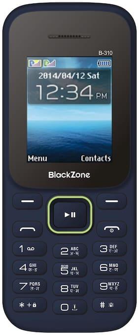 BlackZone B310 1.8 inch Display features phone (Blue)
