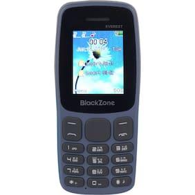 BlackZone EVEREST, 1.8 inch Display features phone (BLUE)