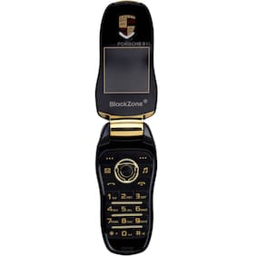 "BlackZone Porsche 911, 1.44"" Key  Features phone (Black)"