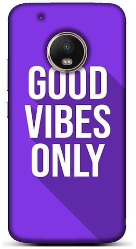 Blu Dew Designer Mobile Back Case For Motorola Moto G5 Plus