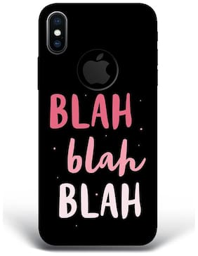 Blu Dew Polycarbonate Back Cover For Apple iPhone X ( Multi )