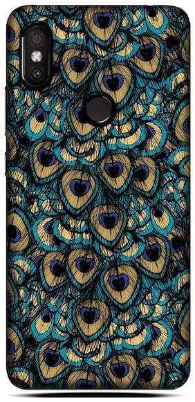 Blu Dew Polycarbonate Back Cover For Mi Redmi Y2 ( Multi )
