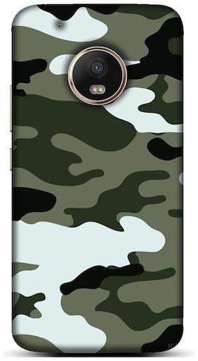 Blu Dew Polycarbonate Back Cover For Motorola Moto G5 Plus ( Multi )