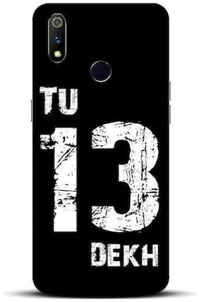 Blu Dew Polycarbonate Back Cover For Realme 3 Pro ( Multi )