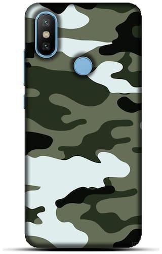 Blu Dew Polycarbonate Back Cover For Xiaomi Mi A2 ( Multi )