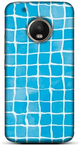 Blu Dew Polycarbonate Back Cover For Motorola Moto G5 Plus ( Multi )