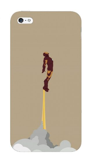 Blu Dew iPhone 4/4S Mobile Case - Ironman Taking Off!