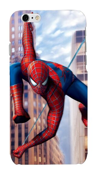 Blu Dew iPhone 6/6S Mobile Case -Spiderman in Action