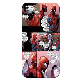 Blu Dew iPhone 4/4S Mobile Case - Spiderman Comic