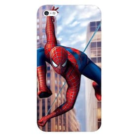 Blu Dew iPhone 4/4S Mobile Case - Spiderman in Action