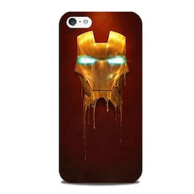 Blu Dew iPhone 5/5S Mobile Case - Ironman