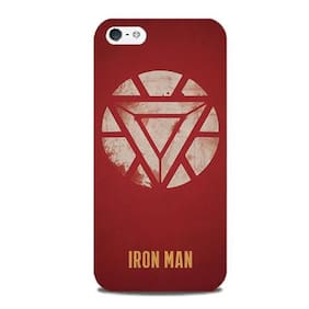 Blu Dew iPhone 5/5S Mobile Case - Ironman Logo