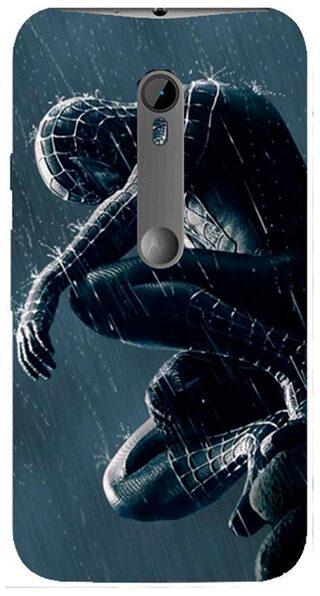 Blu Dew Moto G3 Mobile Case - Spiderman
