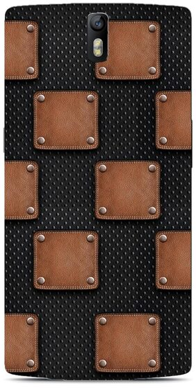 Blu Dew OnePlus One Mobile Case - Leather Patch