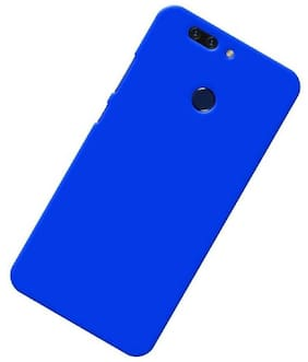 Rubberised Matte Hard Case Back Cover For HUAWEI Honor 8 Pro (Royal Blue)