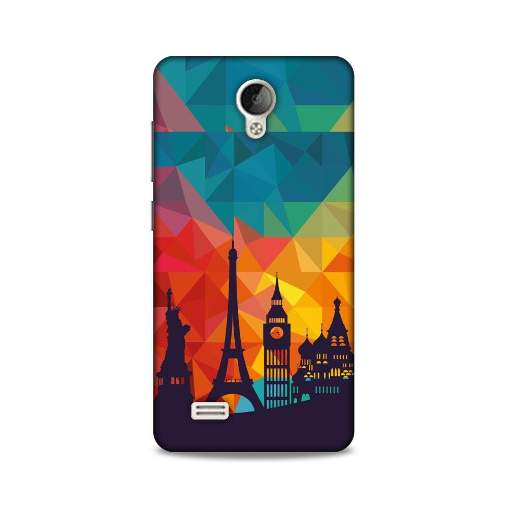 BMB SHOPPE Back Cover For VIVO Y21L  Multi  by BMB IT Solution