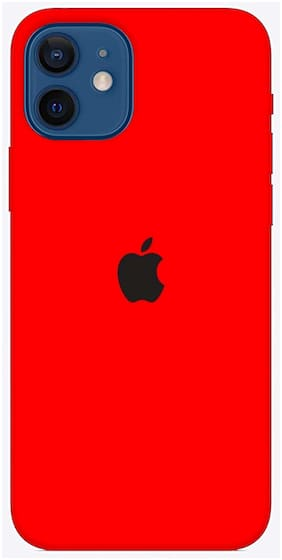 Apple iPhone 12 Silicone Soft Back Cover By BMB SHOPPE ( Multi )