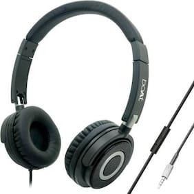 boAt On-Ear Wired Headphone ( Black )