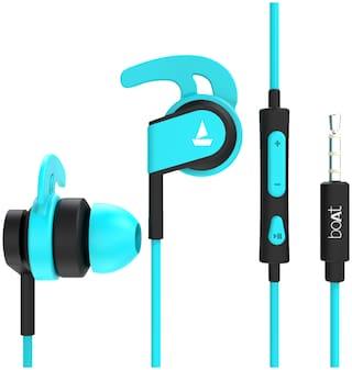 boAt BassHeads 242 In-Ear Wired Headphone ( Blue )