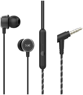 boAt Bassheads 172 In-ear Wired Headphone ( Black )