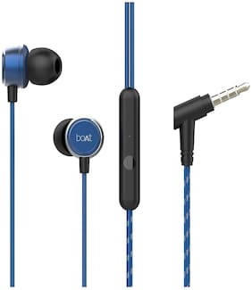 boAt Bassheads 172 In-ear Wired Headphone ( Blue )