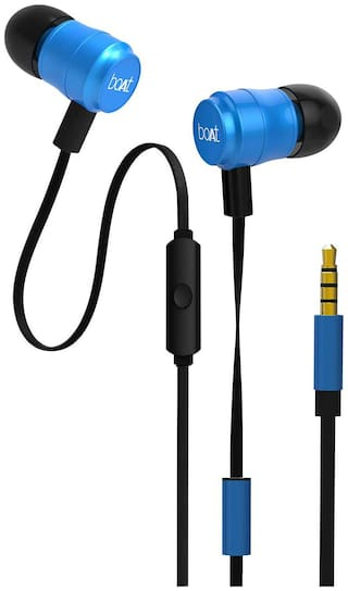 boAt Bassheads 238 In-ear Wired Headphone ( Blue )