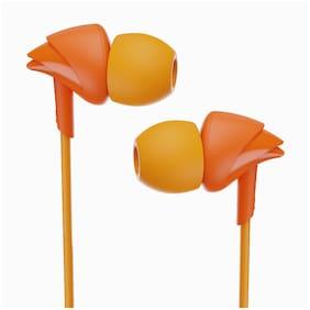 boAt BassHeads 100 In-Ear Wired Headphone ( Mint orange )