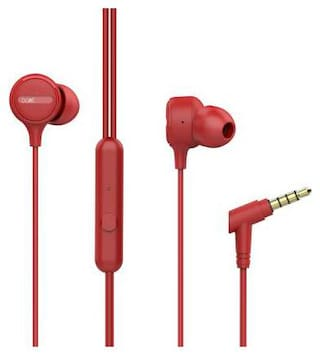 boAt boAt Bassheads 103 In-Ear Wired Headphone ( Red )